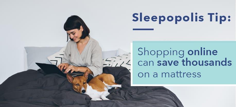 sleepopolis tip for saving money