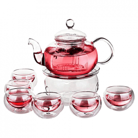 Jusalpha Glass Filtering Tea Maker Set