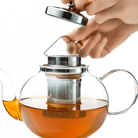 Kitchen Kite Tea Kettle Infuser Stovetop Gift Set