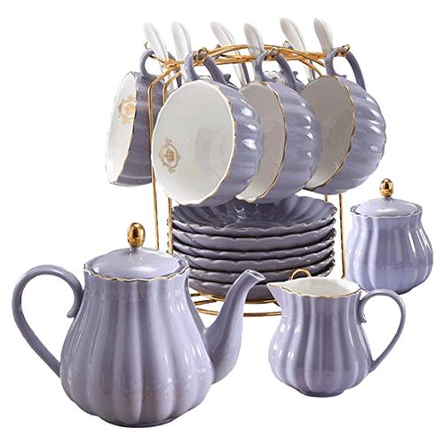 Young QI Porcelain Tea Set