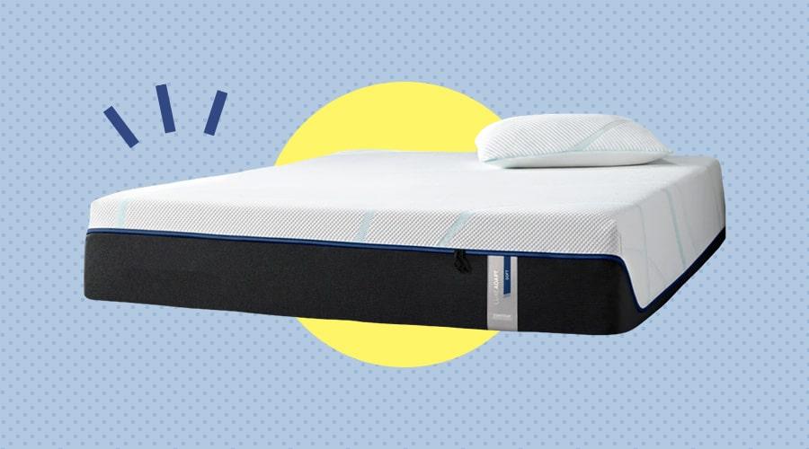 TEMPUR-LuxeAdapt tempur-pedic memory foam mattress