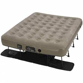 Insta-Bed Ez Raised Air Mattress with NeverFLAT