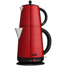 SAKI Electric Kettle with Tea Infuser Teapot