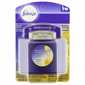 Febreze Sleep Serenity Warm Milk & Honey Bedside Diffuser Air Freshener