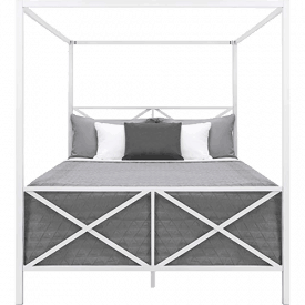 Best Choice Products Modern 4 Post Canopy Bed