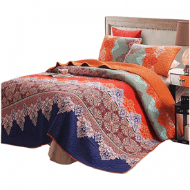 Exclusivo Mezcla Cotton Quilt Set