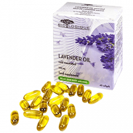 BIOLOGIQUE Lavender Pure Oil 500mg Capsules