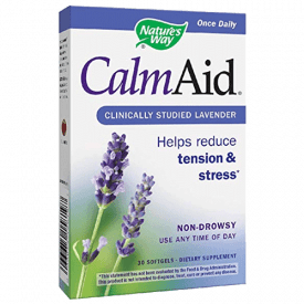 Nature's Way CalmAid Lavender Softgels