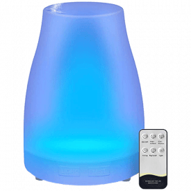 HOMEWEEKS 300ml Colorful Essential Oil Diffuser