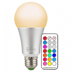 LumenBasic LED Color Changing Light Bulb