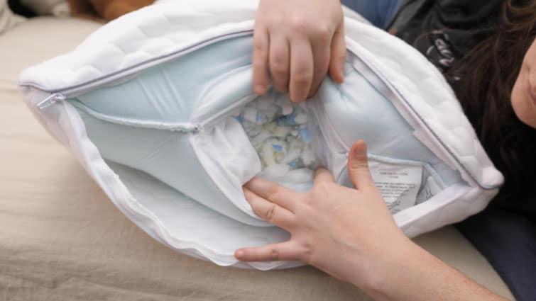 Layla Memory Foam Pillow Shredded