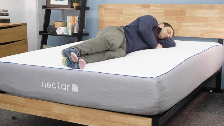 Nectar mattress side sleeping