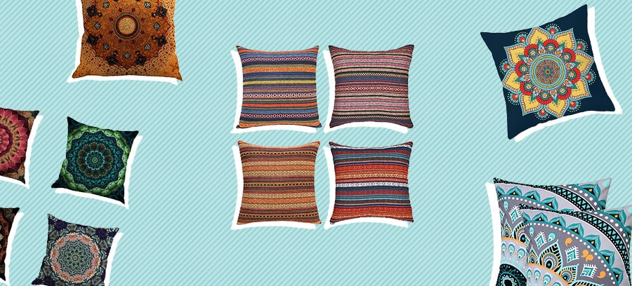best bohemian pillows