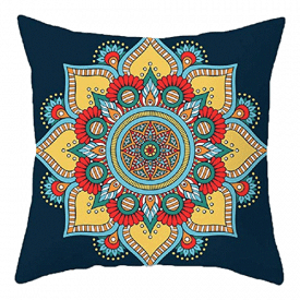 BJYHIYH Mandala Throw Pillow Covers