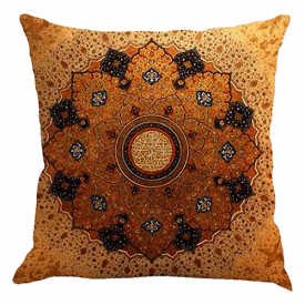 Jartinle Retro Boho Style Cushion Case