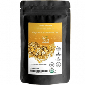 The Tea Company Organic Chamomile Tea with Whole Dried Flowers
