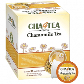 Cha4Tea Pure Camomile Herbal Tea Pods