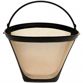 GoldTone Cone Style Coffee Filter