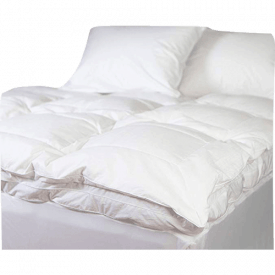 Allied Essentials Luxe Featherbed Mattress Topper
