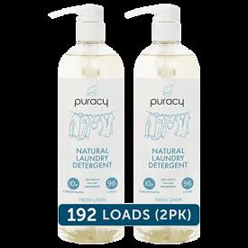 Puracy Fresh Linen Natural Liquid Laundry Detergent
