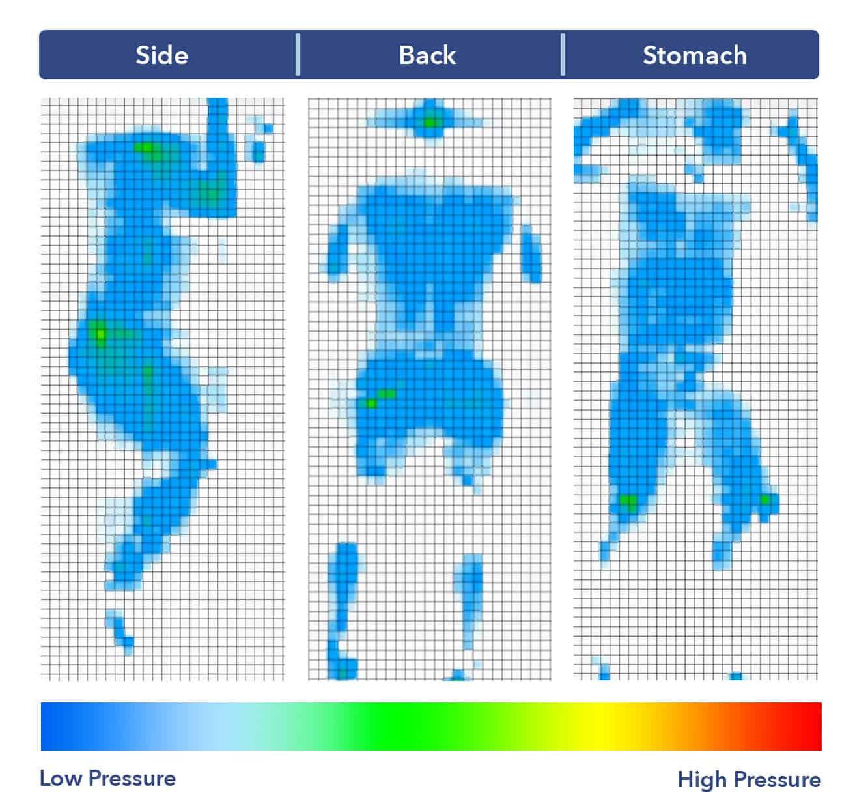Amerisleep Mattress Pressure Map