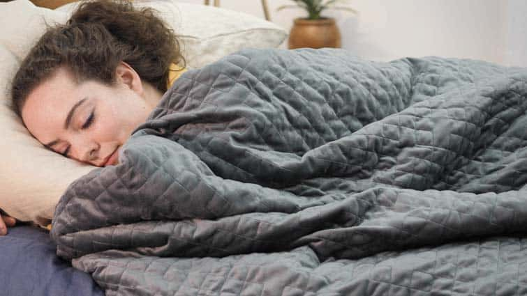 Gravity Weighted Blanket Sleep