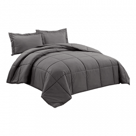 Chezmoi Collection Down Alternative King Comforter Set