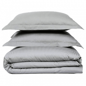 Feather & Stitch New York Cotton Stripe Bed Sheet Set