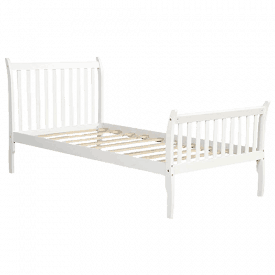 Merax Solid Wood Bed Frame