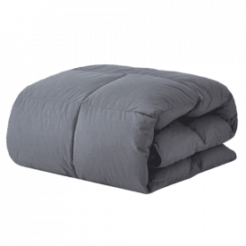 Decroom 100% Cotton Quilted Down Comforter