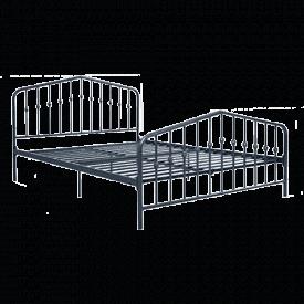 Novogratz Bushwick Metal Bed Frame