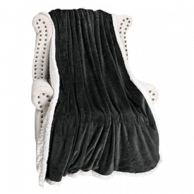 Catalonia Sherpa Micromink Blanket
