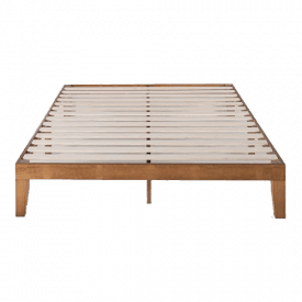 Mellow Naturalista Classic Solid Wood Platform Bed