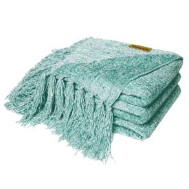 DOZZZ Chenille Throw Blanket