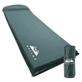 WELLAX Ultra Thick Self-Inflating Sleeping Pad