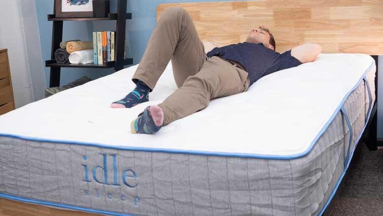 Idle Hybrid Back Sleeper