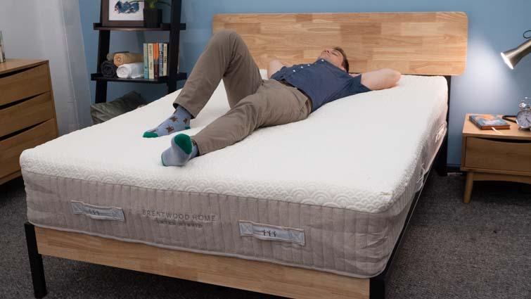Brentwood Hybrid Latex Back Sleepers