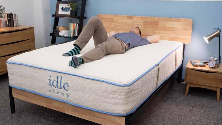 Idle Sleep Latex Back Sleepers