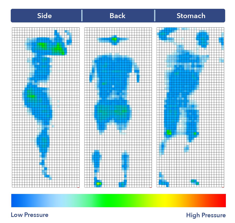 Naturepedic Pressure Map