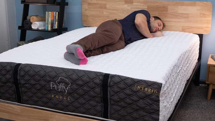 Puffy Royal Hybrid Side Sleepers