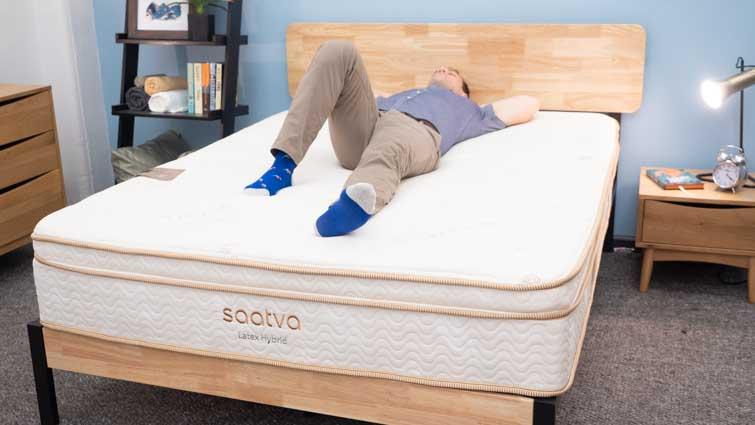 Saatva Latex Hybrid Back Sleepers