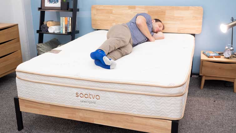 Saatva Latex Hybrid Side Sleepers
