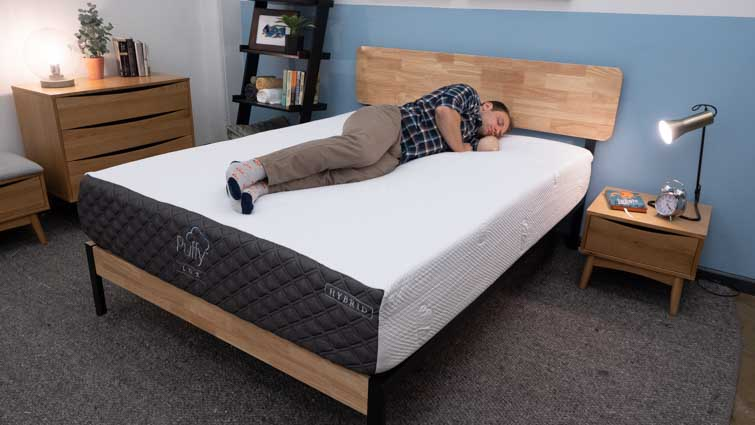 Puffy Lux Hybrid Side Sleepers