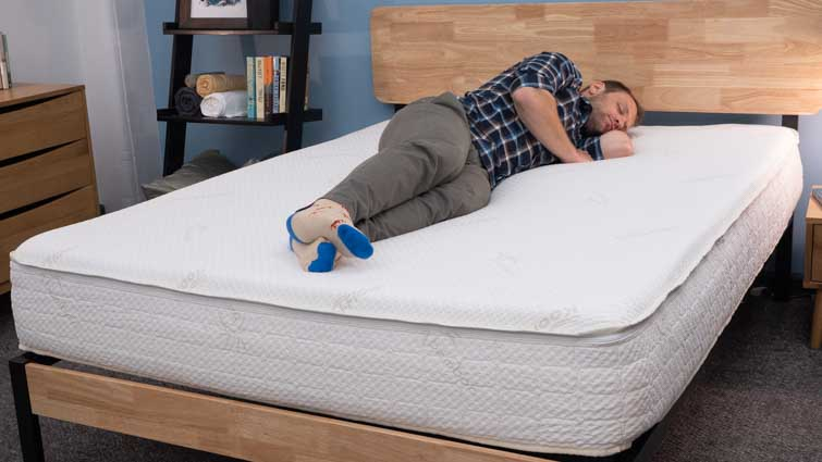 Snuggle-Pedic Supreme Plush Side Sleepers