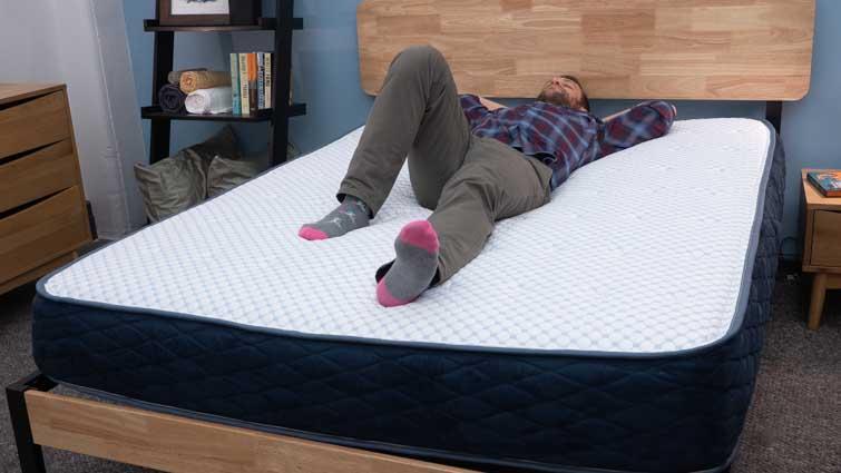 DreamFoam Arctic Dreams Back Sleeper
