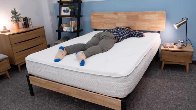 Snuggle-Pedic Supreme Plush Stomach Sleepers