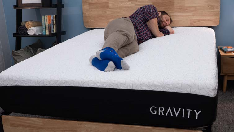 Gravity Ice Hybrid Side Sleeper