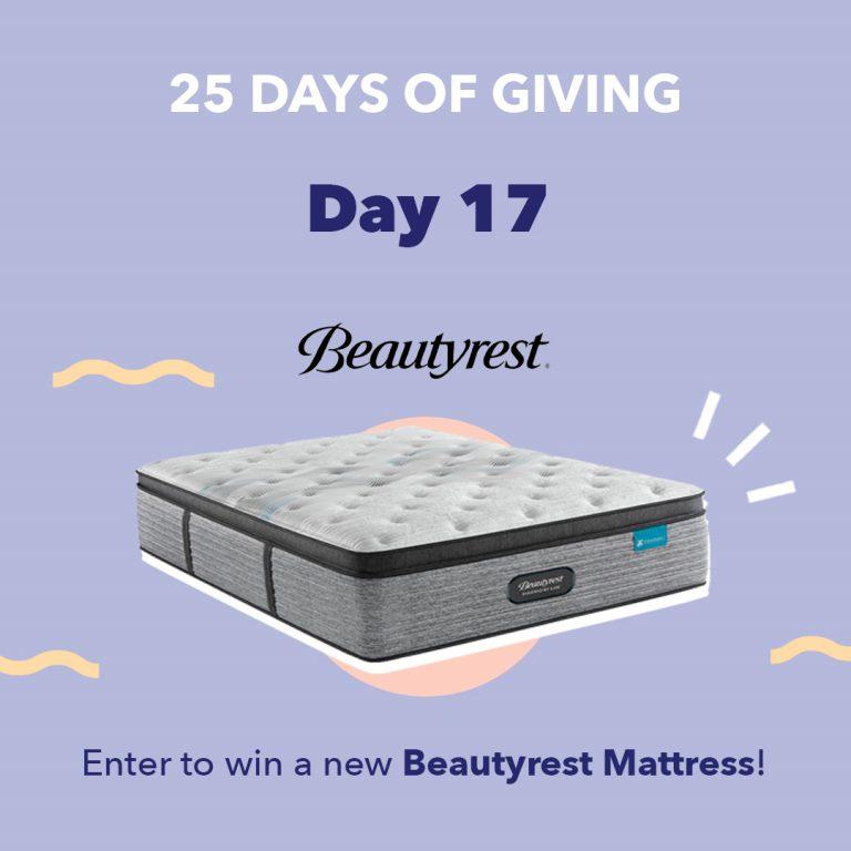 Beautyrest Day17 25DaysOfGiving