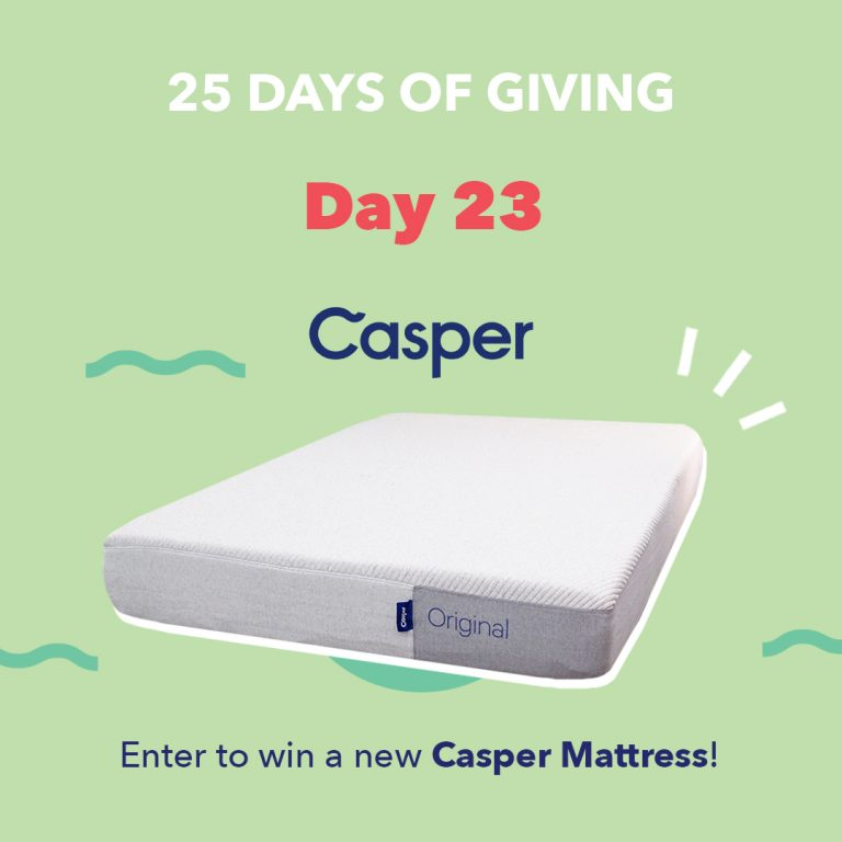 Casper Mattress Giveaway