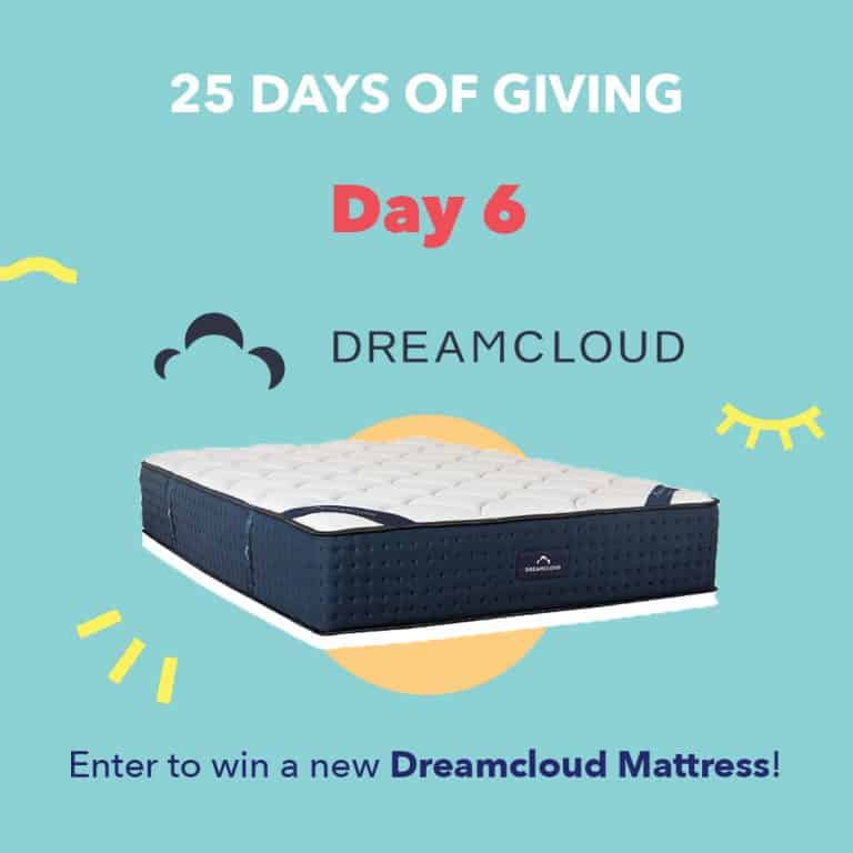 DreamCloudDay6 25DaysOfGiving